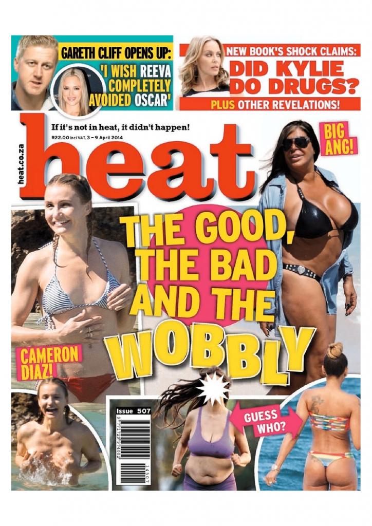 Heat 3-9 April 2014 Cover